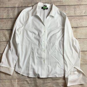 Jones NY White Dress Shirt